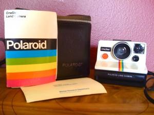 Vintage SX-70 Rainbow Camera