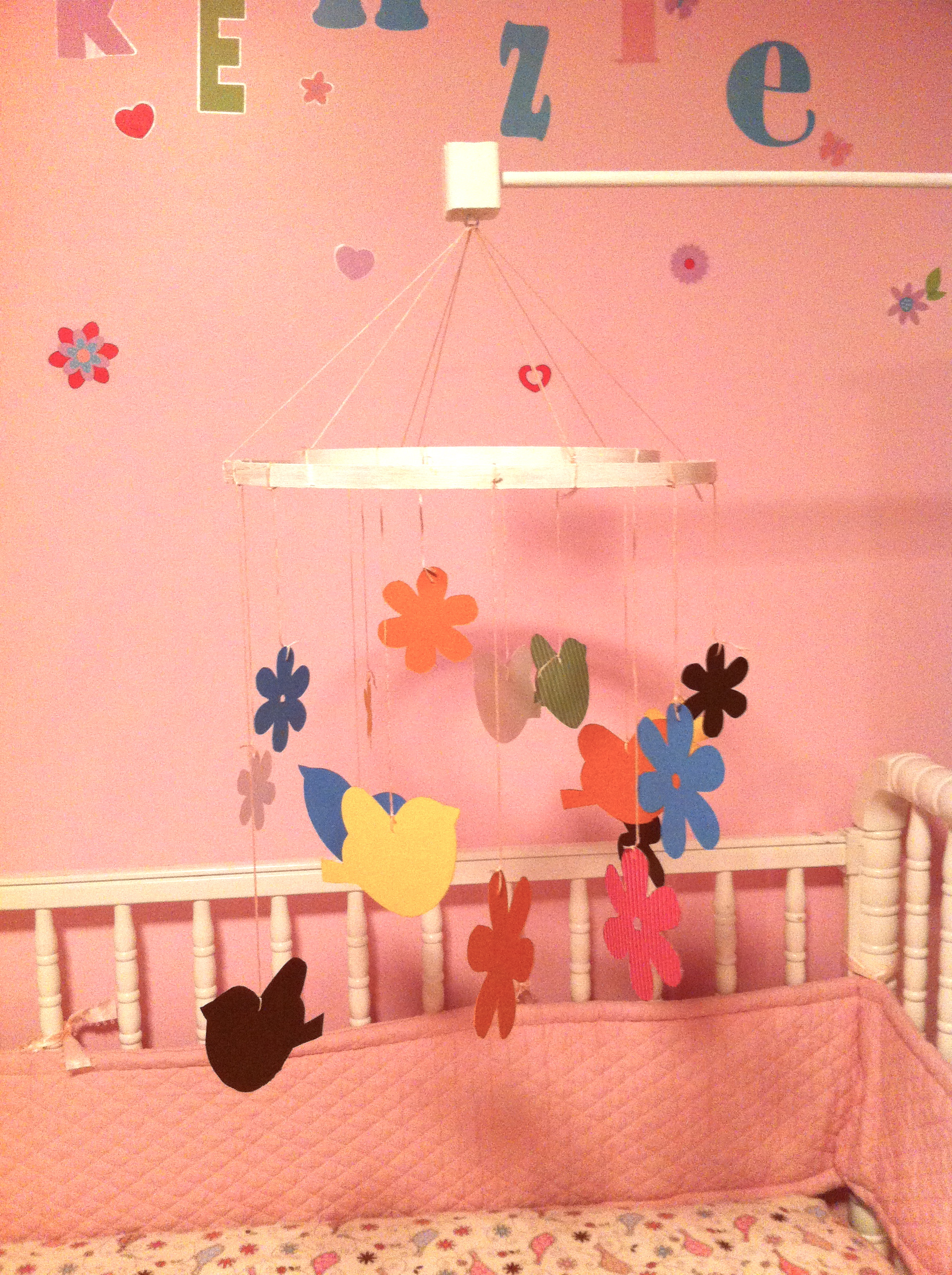 How To Make A Crib Mobile Dee Wilcox