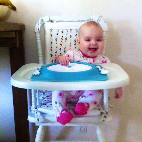 Before After Vintage High Chair Dee Wilcox
